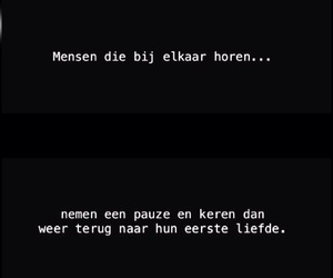 dutch, quote, and love image
