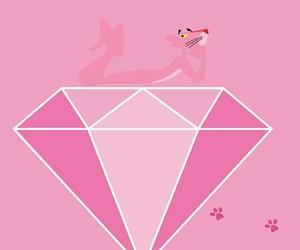 pink, wallpaper, and diamond image