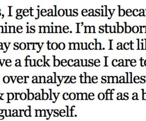 quote, jealous, and text image