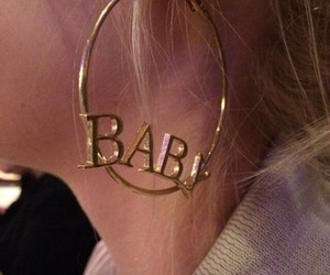 baby, cyber, and earrings image