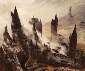 hogwarts, harry potter, and hp image