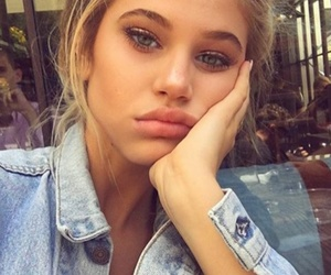 beauty, girl, and blonde image