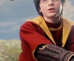 harry potter and the golden snitch image