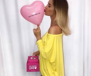 balloon, fashion, and pink image