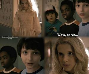 dustin, eleven, and finn image