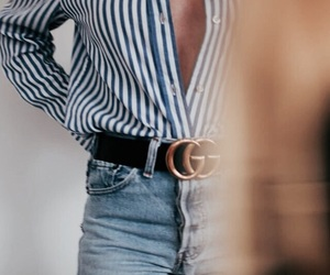fashion, denim, and gucci image