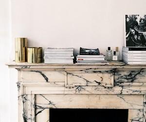 decor, book, and design image