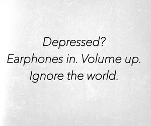 depressed, world, and quotes about life image