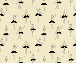 mustache, ballet, and moustache image