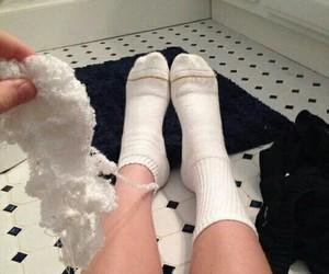 funny, socks, and lol image