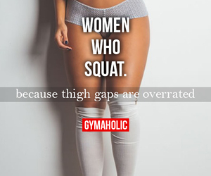 fitness, squats, and fit image