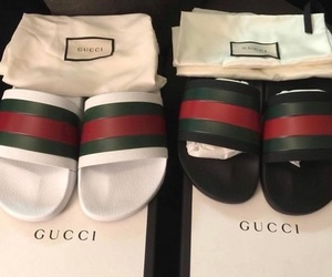 gucci, shoes, and luxury image