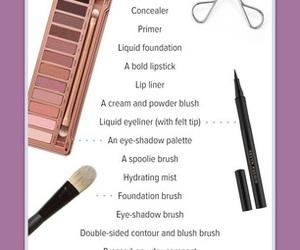all, makeup, and contour image