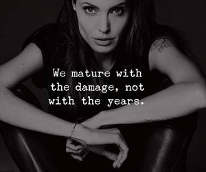 Angelina Jolie, quote, and demage image