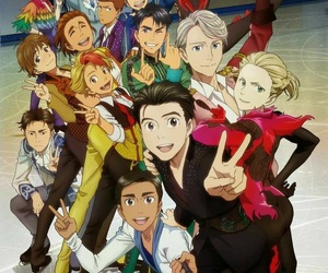 yuri on ice, yoi, and anime image