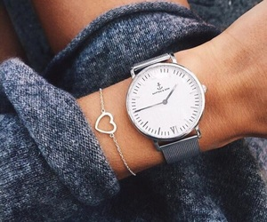 watch, style, and heart image