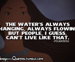 disney, quote, and pocahontas image