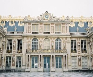 architecture, versailles, and vintage image