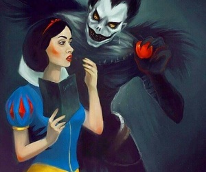 apple, death note, and snow white image