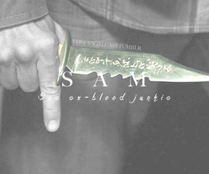 sam winchester, supernatural, and team free will image