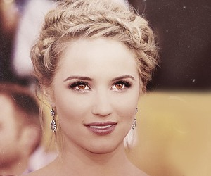 glee, pretty eyes, and quinn fabray image