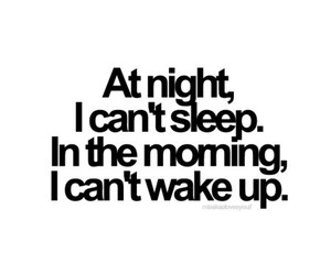 sleep, quotes, and night image