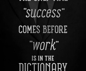 work, success, and quote image
