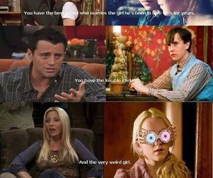 friends, harry potter, and funny image