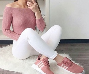 adidas, pink, and ideas image