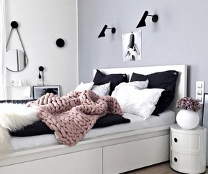 room and girl image