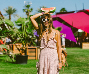 fashion, bohemian style, and festival style image