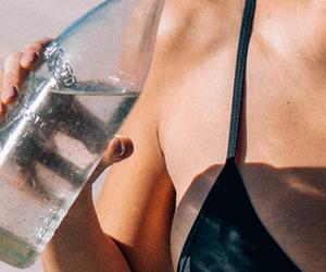 water, summer, and bikini image