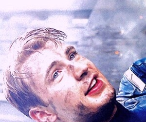 background, captain america, and chris evans image
