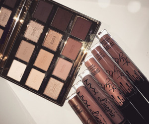 makeup, cosmetics, and kylie image