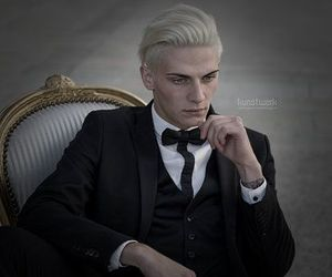 cosplay, draco malfoy, and Devil image