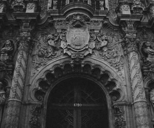 architecture, castle, and dark image