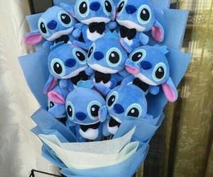 blue, stitch, and cute image