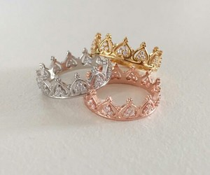 accessories, rings, and crown image