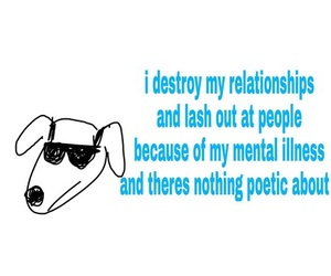 dog and text image