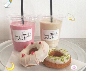 aesthetic, food, and donuts image