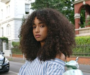 curly and girl image