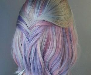 braid, hair, and tumblr image