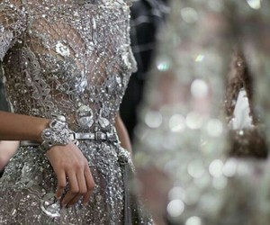 Couture, dress, and jewelry image