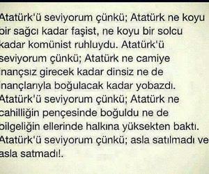 turkiye, mustafa kemal atatürk, and türkçe image