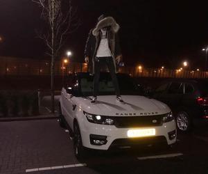 boy, car, and night image
