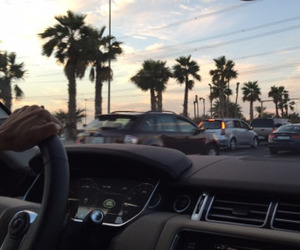 car, ghetto, and palms image
