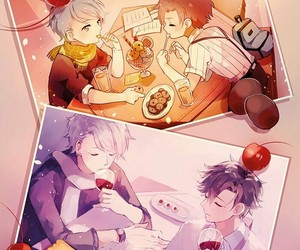 mystic messenger, jumin han, and anime image