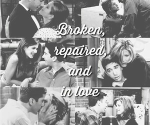 edit, rachel green, and ross gellar image