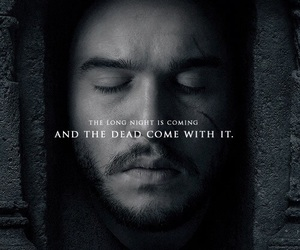 game of thrones, jon snow, and hbo image