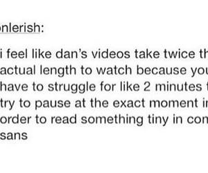 dan, dan and phil, and danisnotonfire image